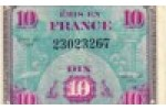 10 FRANCS Verso