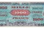 1000 FRANCS Verso