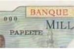BANQUE DE L'INDOCHINE:Polynésie Française