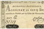 Emission décrétée le 30 avril 1792