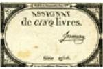 Emission décrétée le 10 brumaire, An III (31-10-1793)