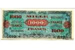 10661 - 1000 FRANCS Verso