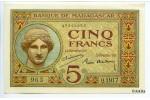 21200 - 5 Frs Déesse Junon  Alph Q.1917