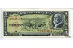 21241 - 5 Pesos Maximo Gomez