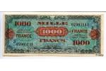22590 - 1000 FRANCS Verso