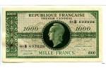 25766 - 1000 FRANCS (Marianne)chiffres gras