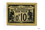 25857 - BON P/ 0fr10 Ch Commerce PHILIPPEVILLE