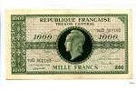 28365 - 1000 FRANCS (Marianne)chiffres maigres