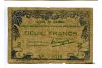 28683 - 2 FRANCS Bon de Caisse Etabissement  Océanie