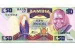 29350 - 50 Kwacha Aigle & statue      PROMO    *   *   *  *  *