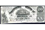 30431 - 20 Dollars RICHMOND Virginie  Voilier  H & L