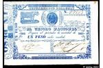 31076 - 2 Pesos El Tesoro Nacional Republica del Paraguay
