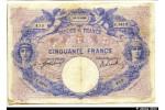 33171 - 50 FRANCS BLEU & ROSE - Type 1889