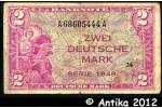 33533 - 2 Deutsche Mark Occupation Alliée   *     *    PROMO