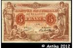 33628 - 5 Francs Marron & Orange Figures Allégoriques