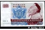 34568 - 100 Kronor Portrait Roi Gustav II