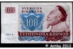 34575 - 100 Kronor Portrait Roi Gustav II   Série B-C-H-N-O-P    *  *  *  * PROMO