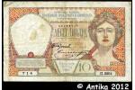 34603 - 10 Dinara Femme & Armoirie