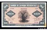 35796 - 100 FRANCS  Baobab Imp° USA