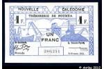 35881 - 1 FRANC Cerf-Croix de Lorraine NOUMEA