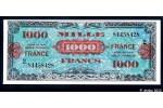 36700 - 1000 FRANCS Verso