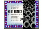37104 - 5000 Francs