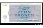 37254 - 10 Kronen Ghetto de Theresienstadt  Occupation Allemande