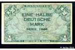 37316 - 1/2 Deutsche Mark Occupation Alliée    PROMO