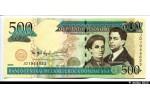 37863 - 500 Pesos Oro S.U.de Henriquz & P.Henriquez Urena