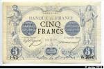 38736 - 5 FRANCS NOIR - Type 1871