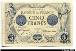 38737 - 5 FRANCS NOIR - Type 1871