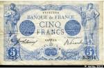 38842 - 5 FRANCS BLEU - Type 1905