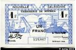 39060 - 1 FRANC Cerf-Croix de Lorraine NOUMEA