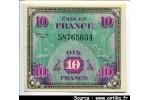 40317 - 10 FRANCS Verso