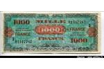 40323 - 1000 FRANCS Verso