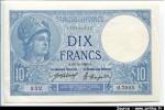 40399 - 10 FRANCS MINERVE - Type 1915