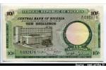 40687 - 10 Shillings Banque Centrale