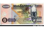 41876 - 100 Kwacha Chute Victoria & Oiseaux  *    *    *   *   *   *