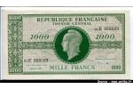 43343 - 1000 FRANCS (Marianne)chiffres maigres