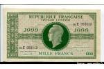 43344 - 1000 FRANCS (Marianne)chiffres maigres