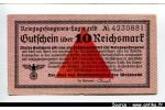 43842 - 10 Reichsmark Rose    PROMO
