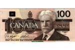 46411 - 100 Dollars Sir Robert Borden