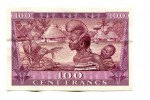 46683 - 100 Frs Sékou Touré - Huttes