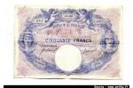 47471 - 50 FRANCS BLEU & ROSE - Type 1889