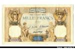 47620 - 1000 FRANCS CERES & MERCURE - Type 1927