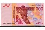 48374 - 1000 Frs Masque & chameau  K:Sénégal    * *  *   *    PROMO