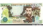 48404 - 5000 Pesos J.A.Silva    *  *   *  *