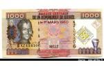 48433 - 1000 Frs Guinéens Jeune femme  -50 éme Anniv