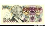 48460 - 2 000 000 Zlotych I.J.Paderewski   Série A  Chiffres Rouges   RARETE  PROMO