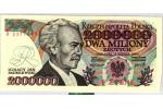 48461 - 2 000 000 Zlotych I.J.Paderewski   Série A  Chiffres Rouges   RARETE  PROMO